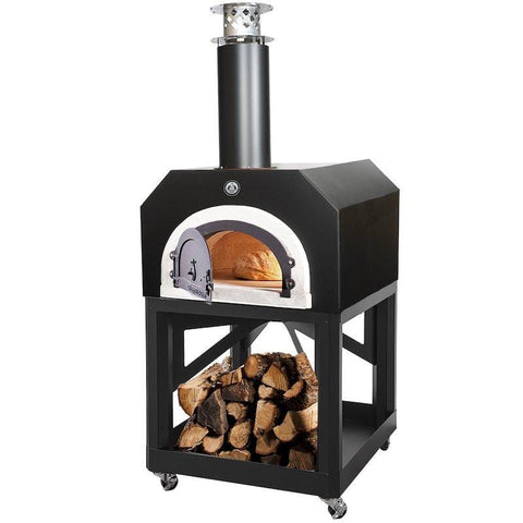 Image of Chicago Brick Oven 750 Portable Pizza Oven Black