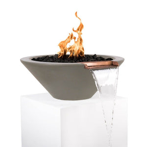 Cazo Fire & Water Bowl - Ash