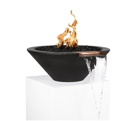 Image of Cazo Fire & Water Bowl - Black