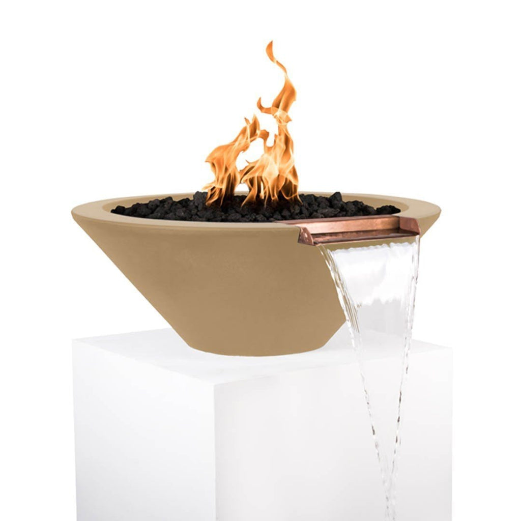 Cazo Fire & Water Bowl - Brown