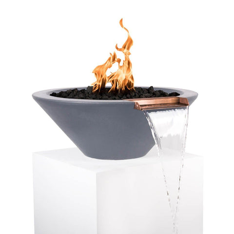 Image of Cazo Fire & Water Bowl - Gray