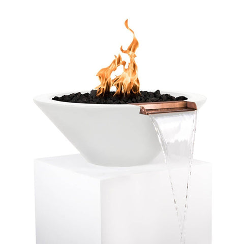 Image of Cazo Fire & Water Bowl - Limestone