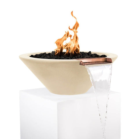 Cazo Fire & Water Bowl - Vanilla