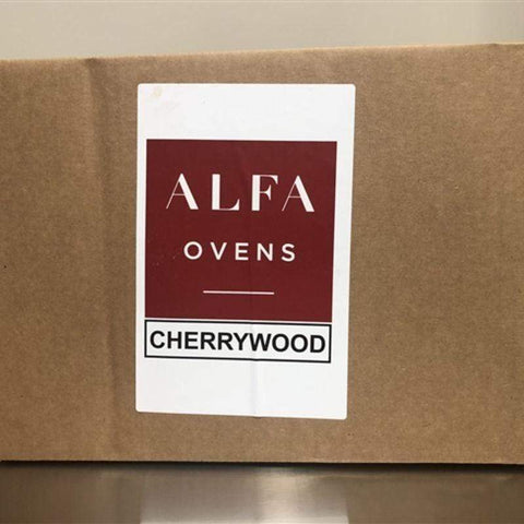 Image of Box of Cherry Wood for Cooking in Wood Pizza Oven
