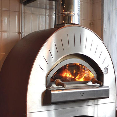 Image of Commercial pizza oven - Alfa Quattro Pro Top