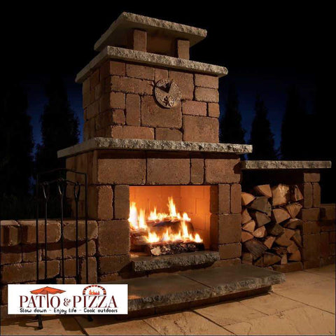 Image of Necessories Compact Fireplace | DIY Outdoor Fireplace Kit