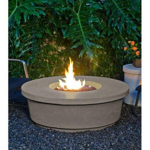 Fire Table: Contempo Round By American Fyre Design Outdoor Heating