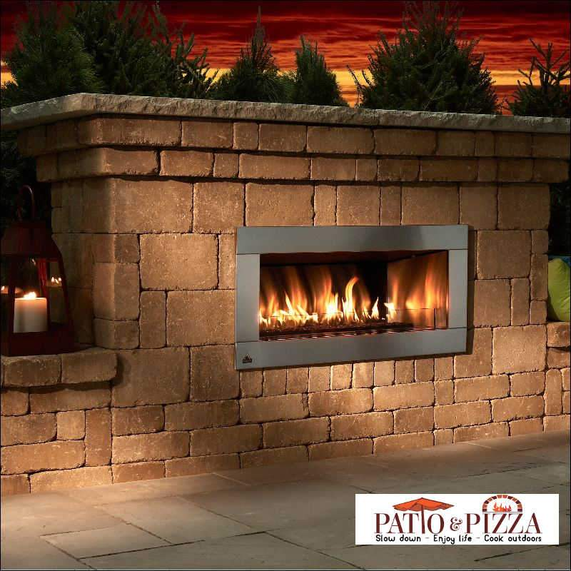 Necessories Contemporary Fireplace by Rockwood