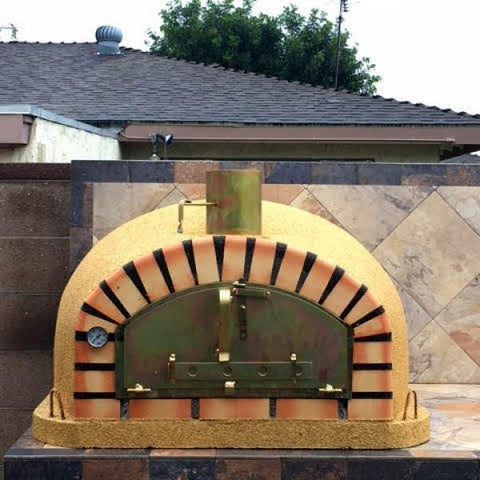 Pizzaioli brick oven yellow