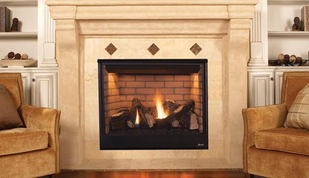 Superior Direct-Vent Gas Fireplaces DRT3500
