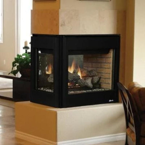 Superior Direct-Vent Peninsula Gas Fireplaces DRT40PF