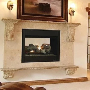 Superior Direct-Vent See-Through Gas Fireplaces DRT35ST