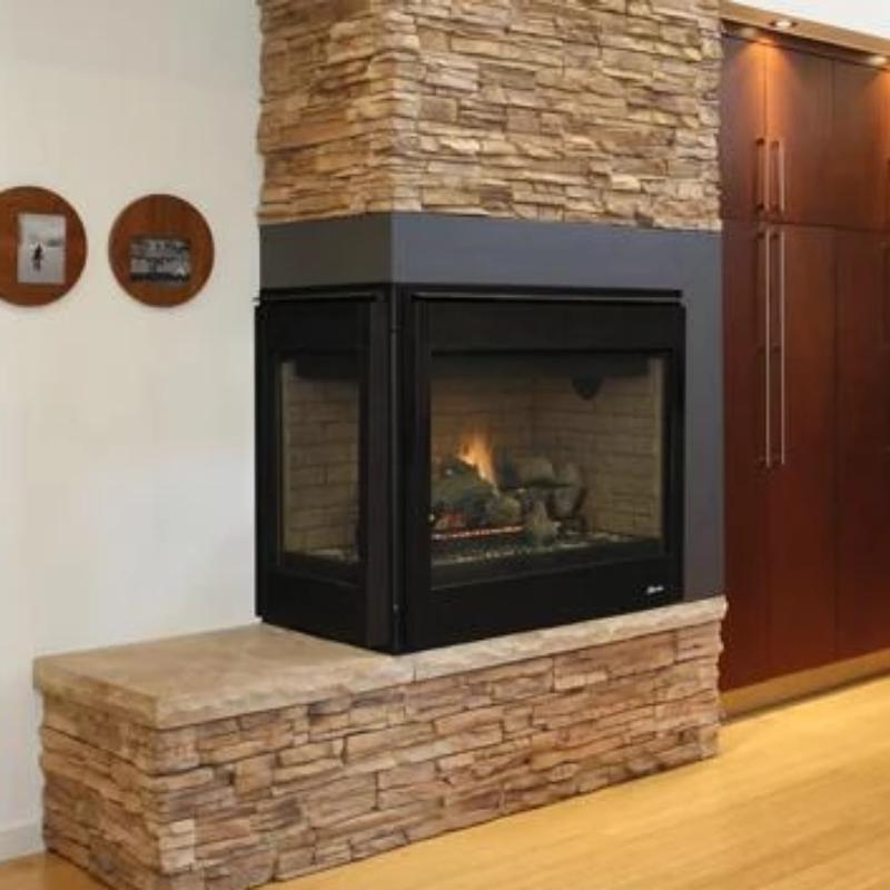 Superior Direct Vent Corner Gas Fireplaces Drt40cr L
