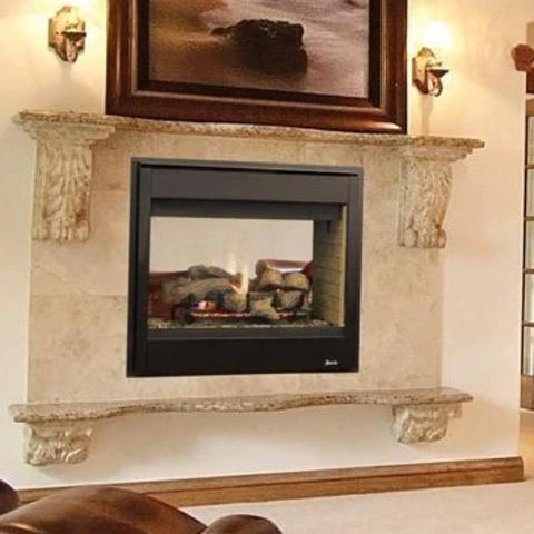 Superior Direct-Vent See-Through Gas Fireplaces DRT40ST