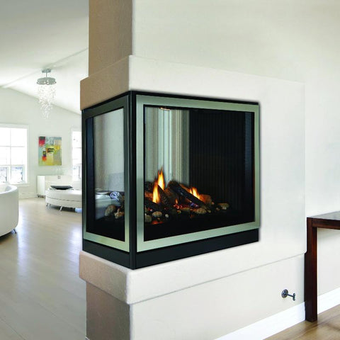 Image of Empire Tahoe Clean Face Premium Peninsula Direct-Vent Fireplaces 36""