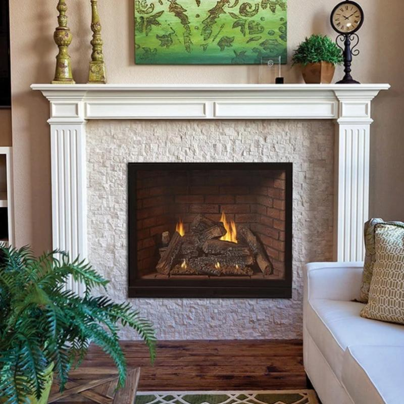 Empire Tahoe Clean Face Luxury Traditional Direct-Vent Fireplaces 36""