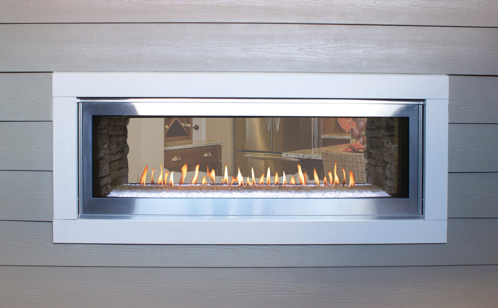 Empire Boulevard Linear Fireplace See-Through 48""