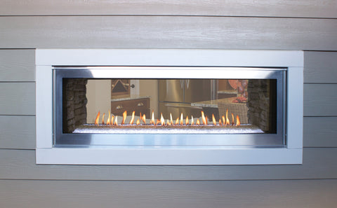 Image of Empire Boulevard Linear Fireplace See-Through 48""