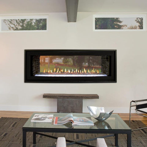 Image of Empire Boulevard Linear Direct-Vent Fireplaces See-Through 48""