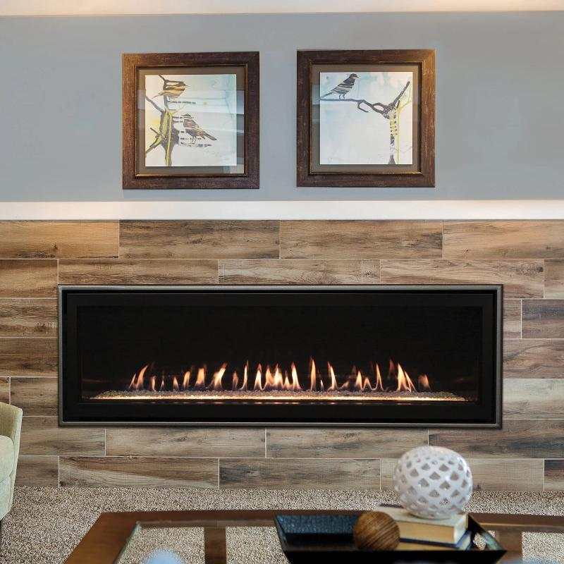 Empire Boulevard Linear Direct-Vent Fireplaces Contemporary 60""
