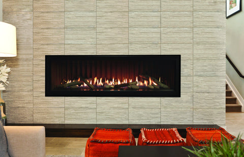 Image of Empire Boulevard Linear Direct-Vent Fireplaces Contemporary 60""