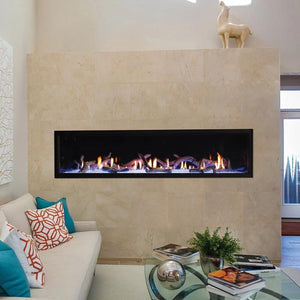 Empire Boulevard Linear Direct-Vent Fireplaces Contemporary 72""