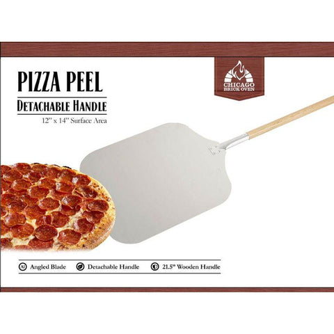 "Image of Aluminum Pizza Peel 12"" x 14"" 