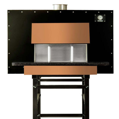 Image of Commercial pizza oven | Earthstone Model 90-Due-PAGW Copper