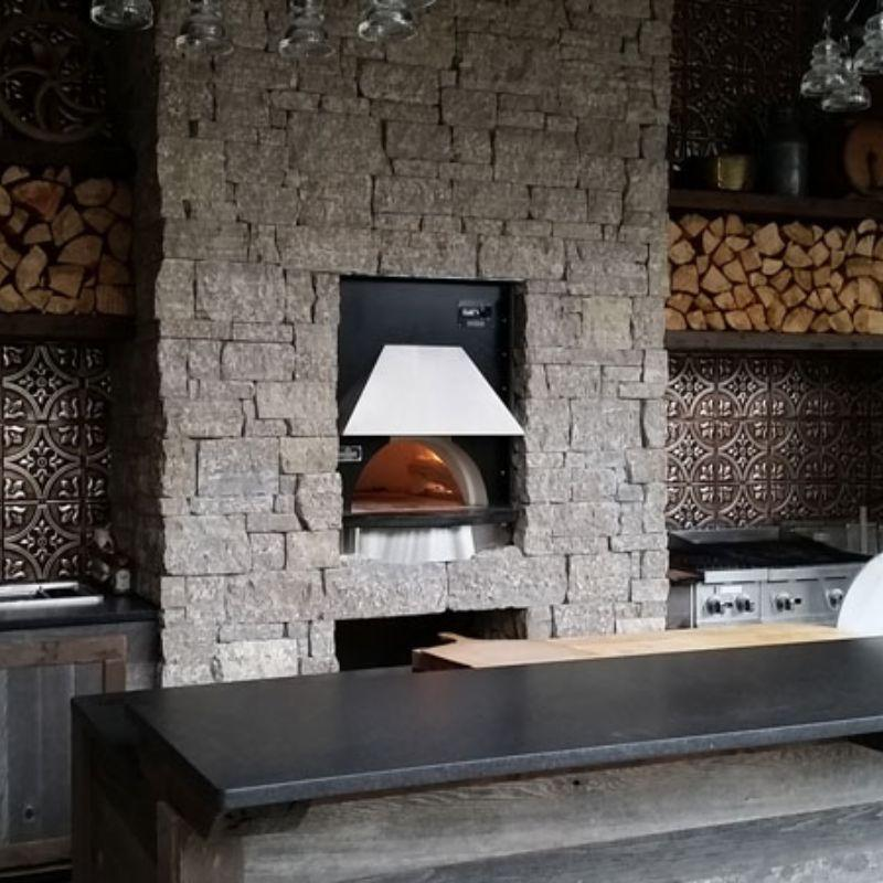 Indoor Wood Fired Pizza Oven Earthstone Ovens Model 60 Pa