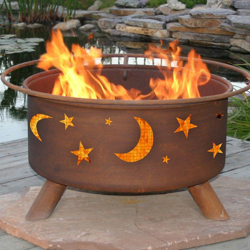 Fire Pit: Evening Sky By Patina Products: Accessories Included