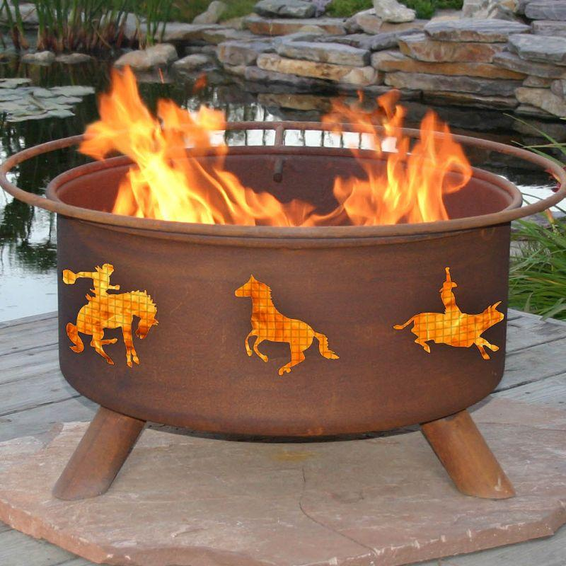Fire Pit: Western By Patina Products F104 Accessories Included