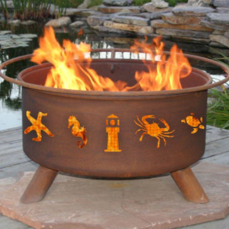 Fire Pit: Atlantic Coast by Patina Products: Accessories Included