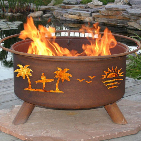 Fire Pit: Pacific Coast By Patina Products Accessories Included