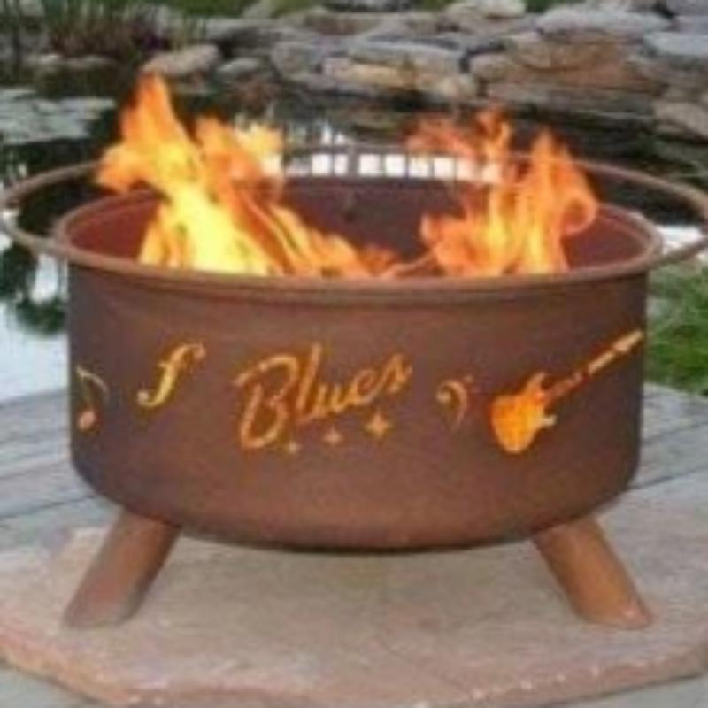 Fire Pit: Music City By Patina Products Accessories Included
