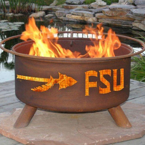Fire Pit: Florida State By Patina Products: Accessories Included