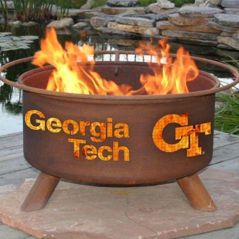Fire Pit: Georgia Tech By Patina Products: Accessories Included