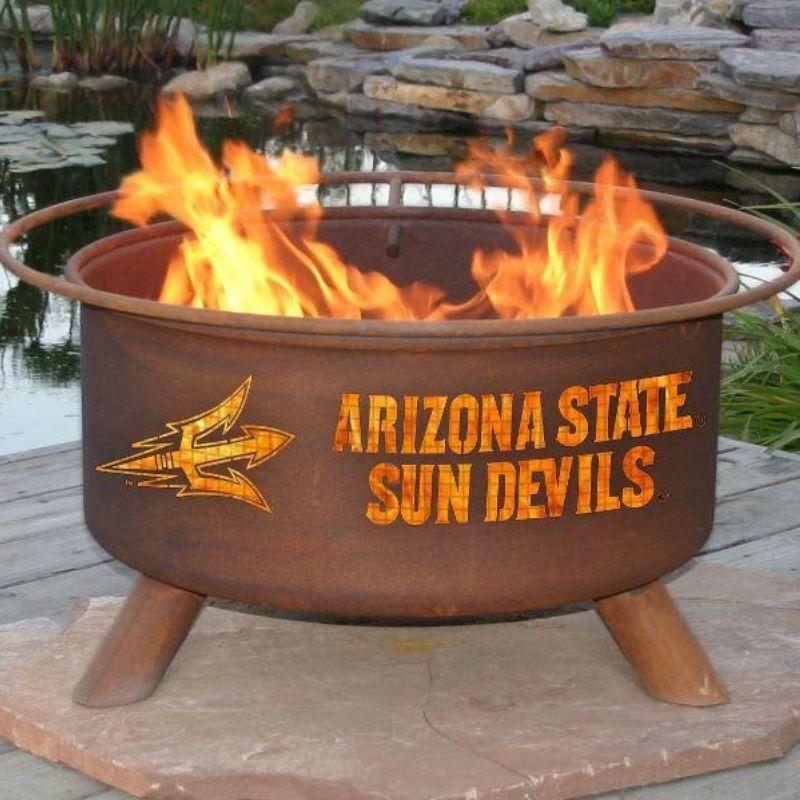 Fire Pit: Arizona State By Patina Products: Accessories Included