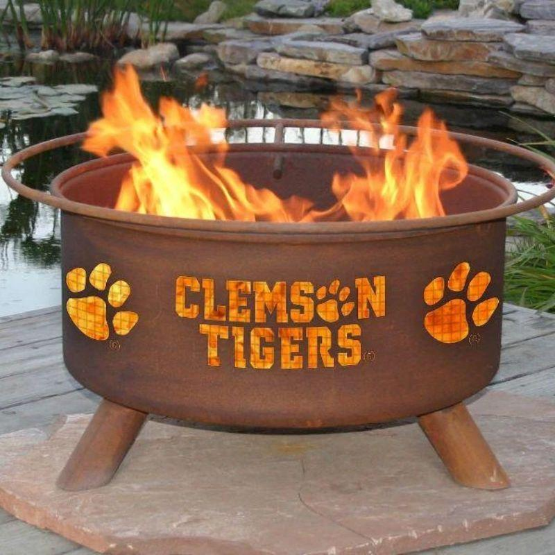 Fire Pit: Clemson By Patina Products: Accessories Included