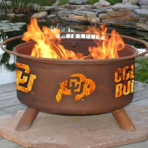 Fire Pit: U of Colorado By Patina Products: Accessories Included