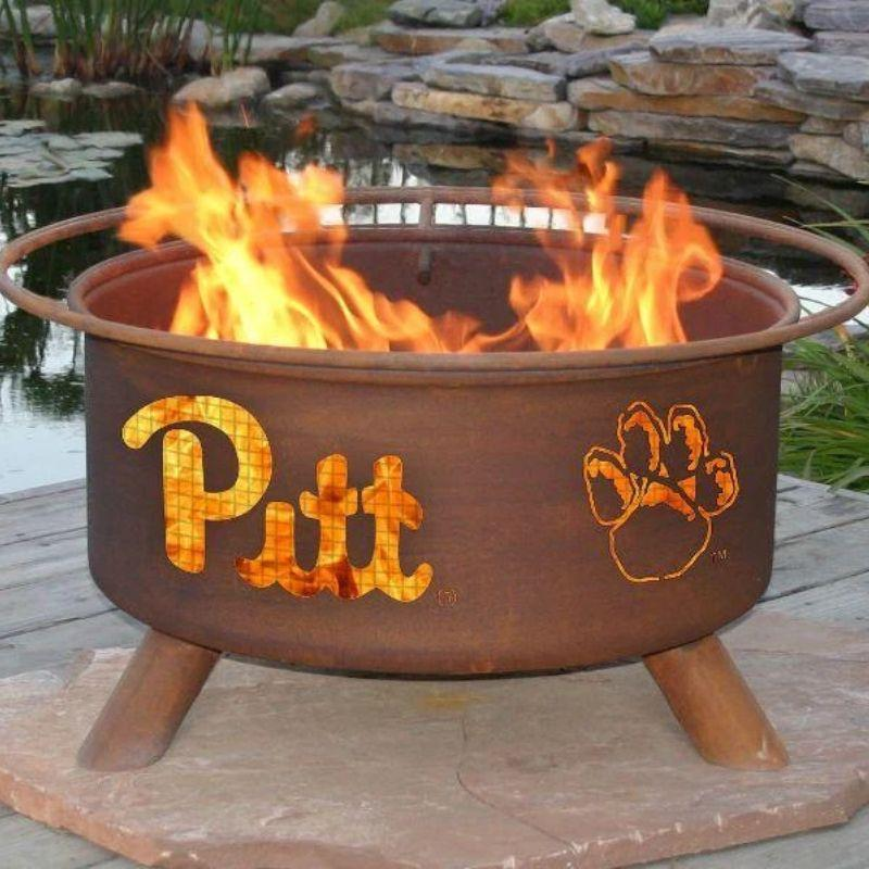 Fire Pit: U of Pittsburgh By Patina Products: Accessories Included