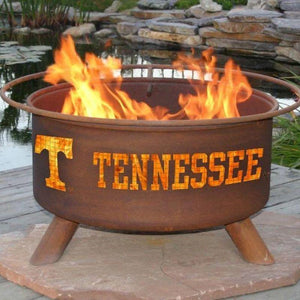 Fire Pit: U of Tennessee By Patina Products: Accessories Included
