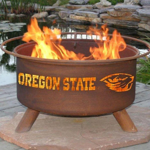 Fire Pit: Oregon State By Patina Products: Accessories Included