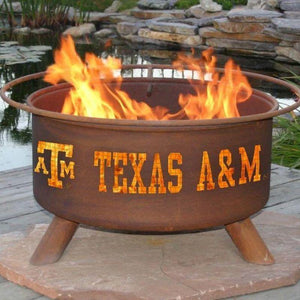 Fire Pit: Texas A&M By Patina Products: Accessories Included