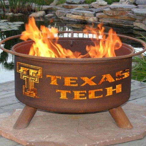 Fire Pit: Texas Tech By Patina Products: Accessories Included