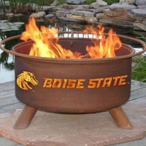 Fire Pit: Boise State By Patina Products: Accessories Included