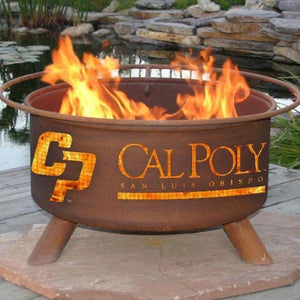 Fire Pit: Cal Poly San Luis Obispo By Patina Products: Accessories Included