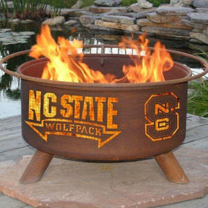 Fire Pit: North Carolina State By Patina Products: Accessories Included