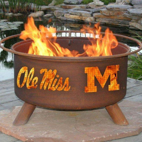 Fire Pit: Ole Miss By Patina Products: Accessories Included