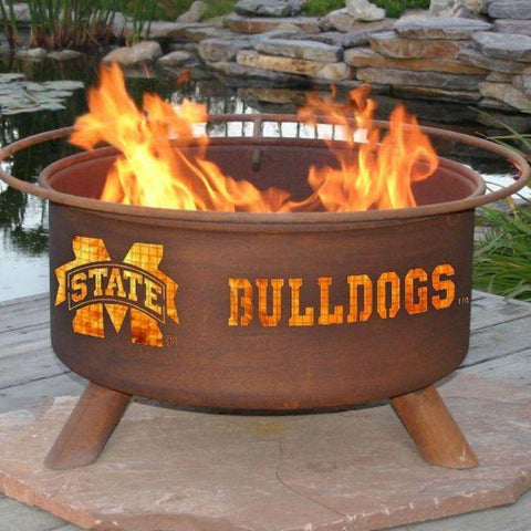 Fire Pit: Mississippi State By Patina Products: Accessories Included