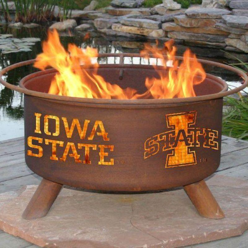 Fire Pit: Iowa State By Patina Products: Accessories Included